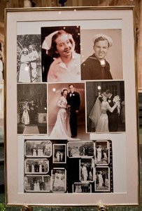 Memory Board, Theresa and Bill Vann Wedding