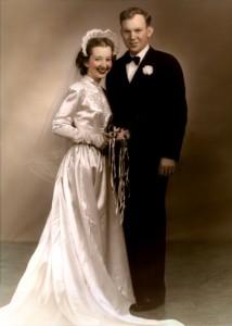 Theresa and Bill Vann, Wedding