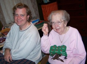 Dave and Mom, 2005
