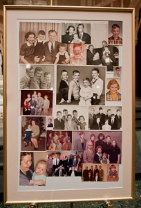 Memory Board, Immediate Family Photos