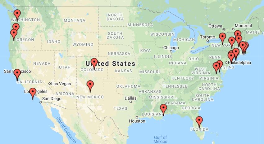 Mbird Map June 2019